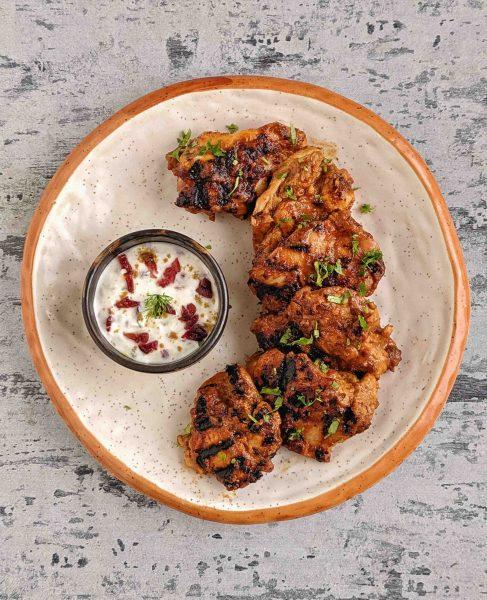 Cranberry-Glazed-Chicken-Kebab