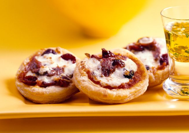 Cranberry-Mini-Pizzas