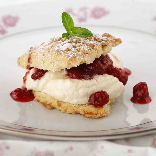 Shortcakes-with-Sweet-Lemon-Ricotta-and-Stewed-Cranberries